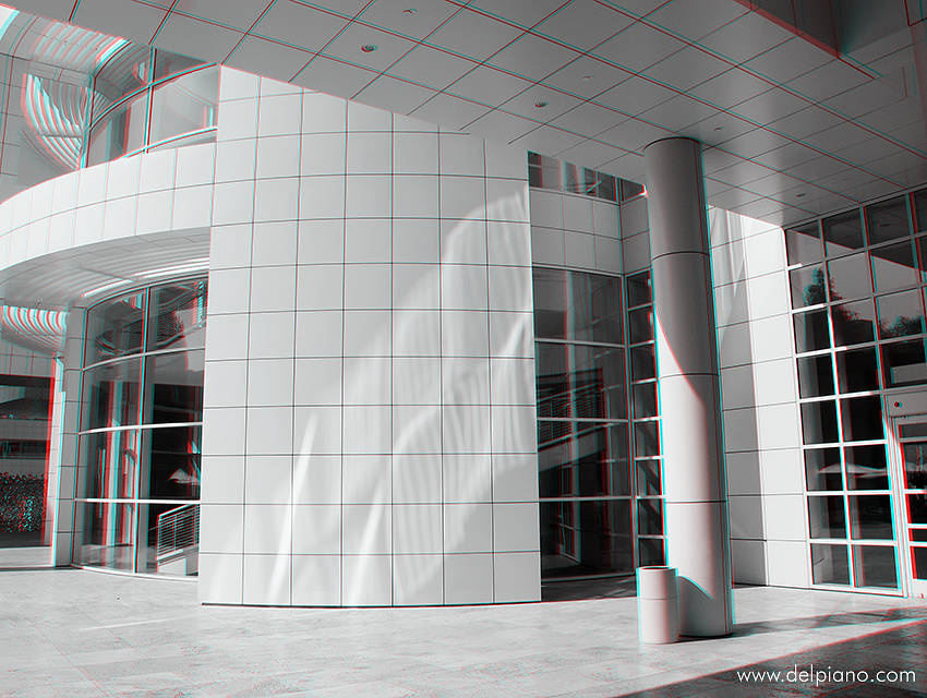 3D stereo Anaglyphs of buildings and architecture in the USA