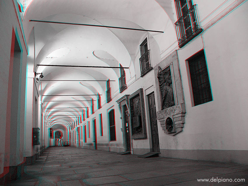 3D stereo Anaglyphs of buildings and architecture in Europe