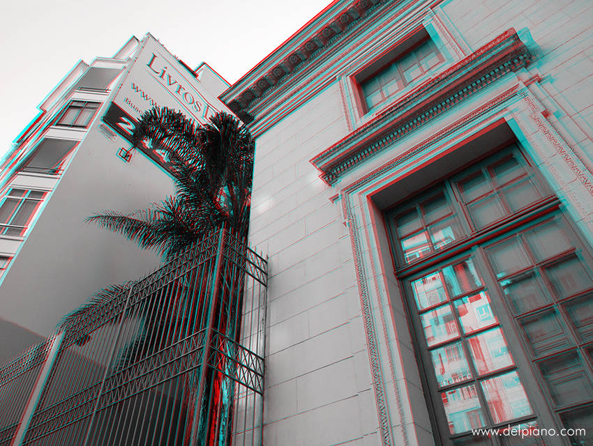3D stereo Anaglyphs of buildings and architecture in Latin America