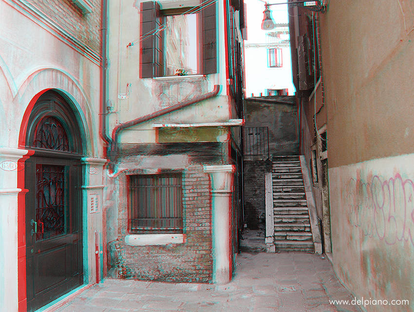 3D stereo Anaglyphs of Venice